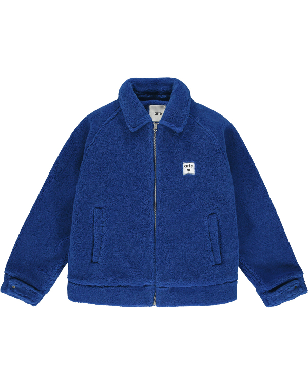ARTE JAKE SHERPA JACKET ROYAL BLUE