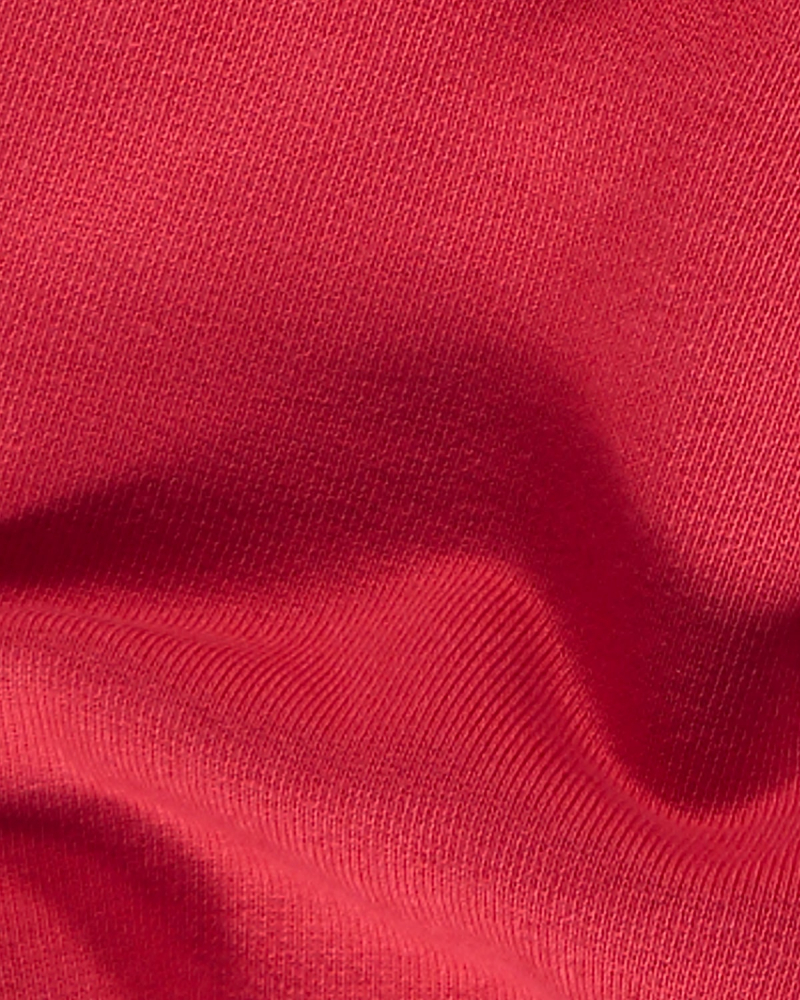 COLORFUL STANDARD CREW RED FABRIC
