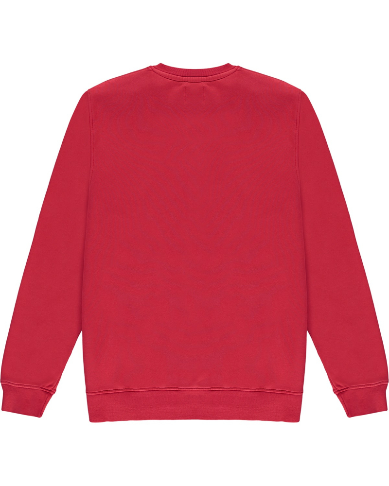 COLORFUL STANDARD CREW RED BACK