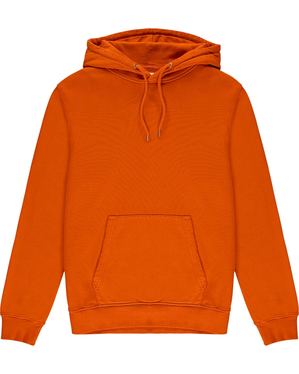 COLORFUL STANDARD HOODIE ORANGE