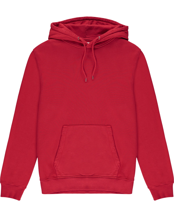 COLORFUL STANDARD HOODIE RED