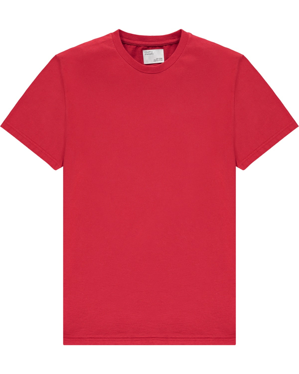 COLORFUL STANDARD TEE RED