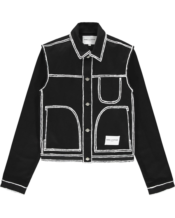 DANIEL W FLETCHER PAINTED EDGE JACKET