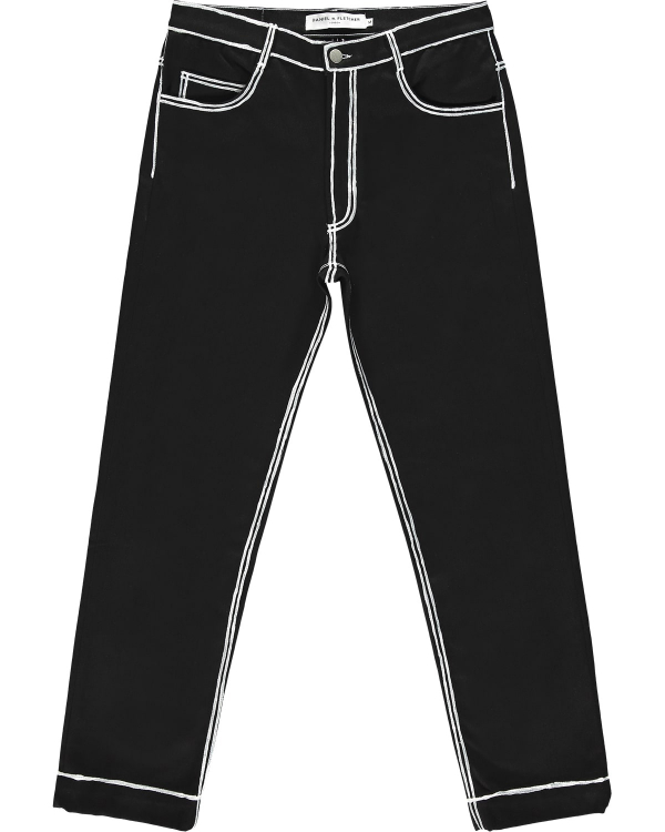 DANIEL W FLETCHER PAINTED EDGE JEANS