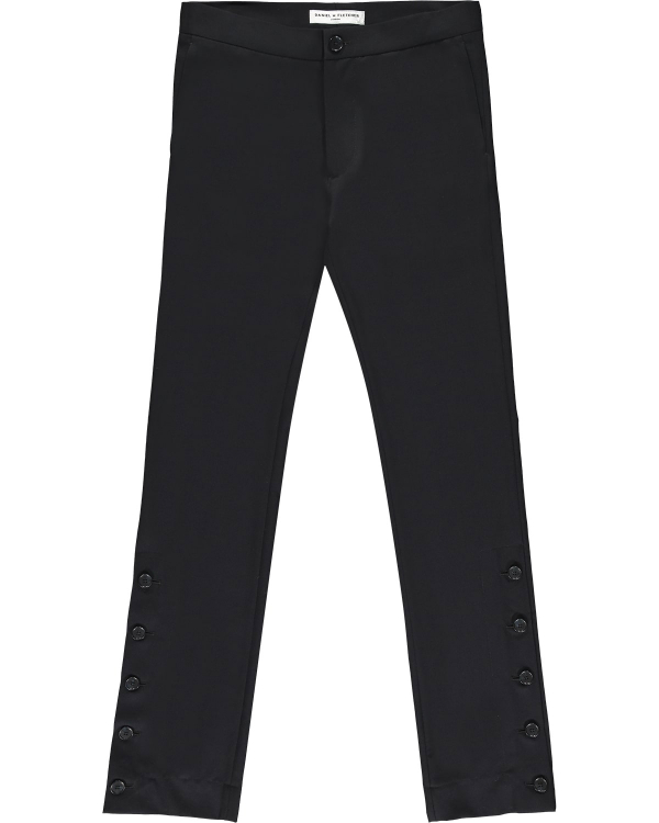 DANIEL W FLETCHER SPLIT HEM TROUSERS