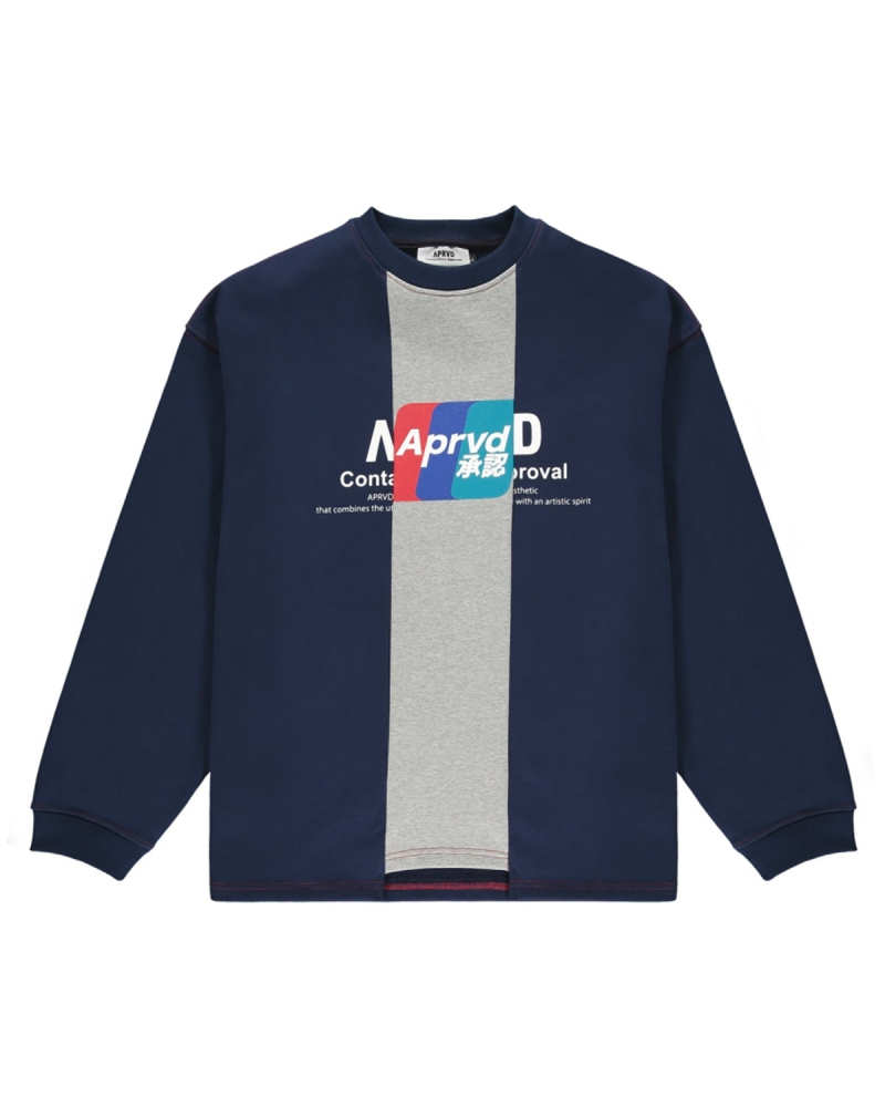 APRVD CREDIT CARD SWEATSHIRT