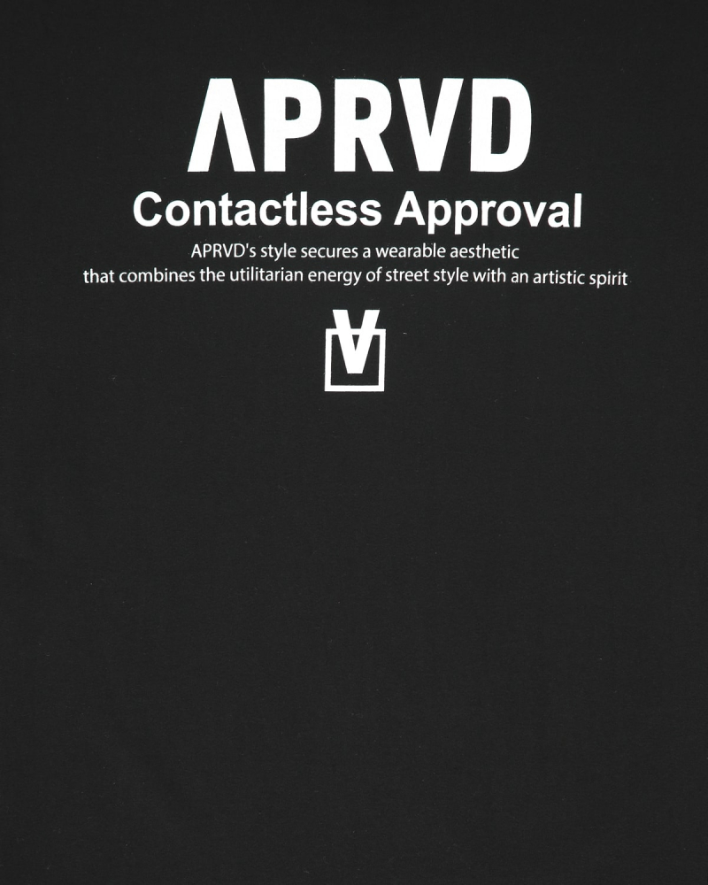 APRVD EMBROIDERED LOGO TEE
