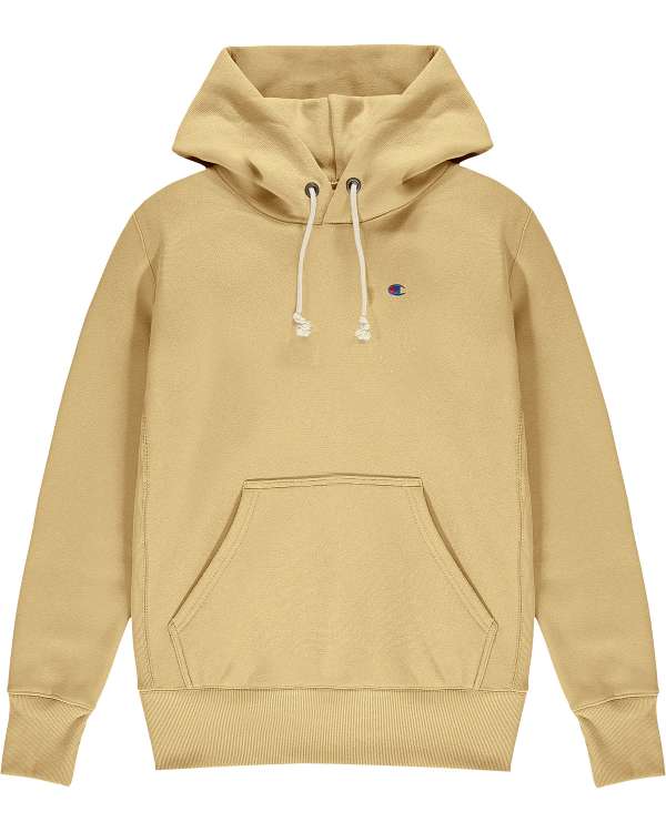 CHAMPION DROP SHOULDER HOODIE BEIGE