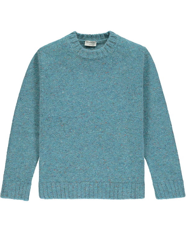 EDITIONS M.R DUNCAN SWEATER BLUE LAGOON