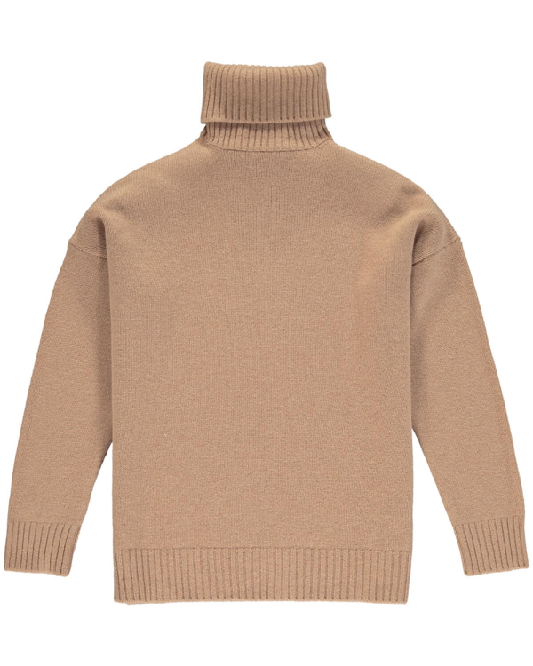 HARMONY WINDY KNIT CAMEL