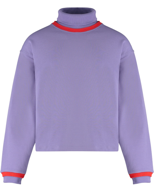 MARTIN ASBJORN NATHAN TURTLENECK PURPLE