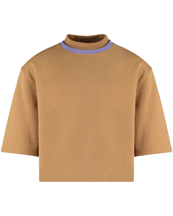MARTIN ASBJORN NATHAN TURTLENECK TEE BROWN