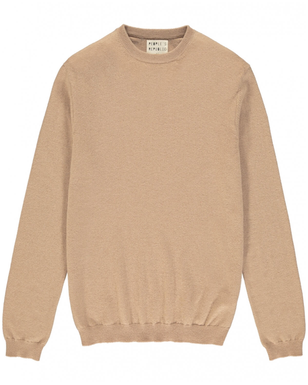 PEOPLE'S REPUBLIC OF CASHMERE ORIGINAL ROUNDNECK CAMEL