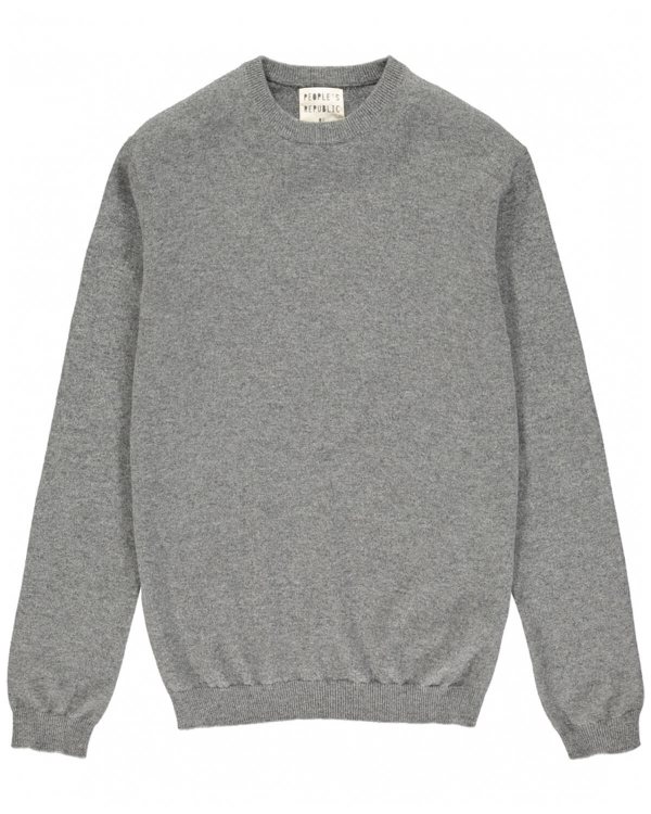 PEOPLE'S REPUBLIC OF CASHMERE ORIGINAL ROUNDNECK GREY