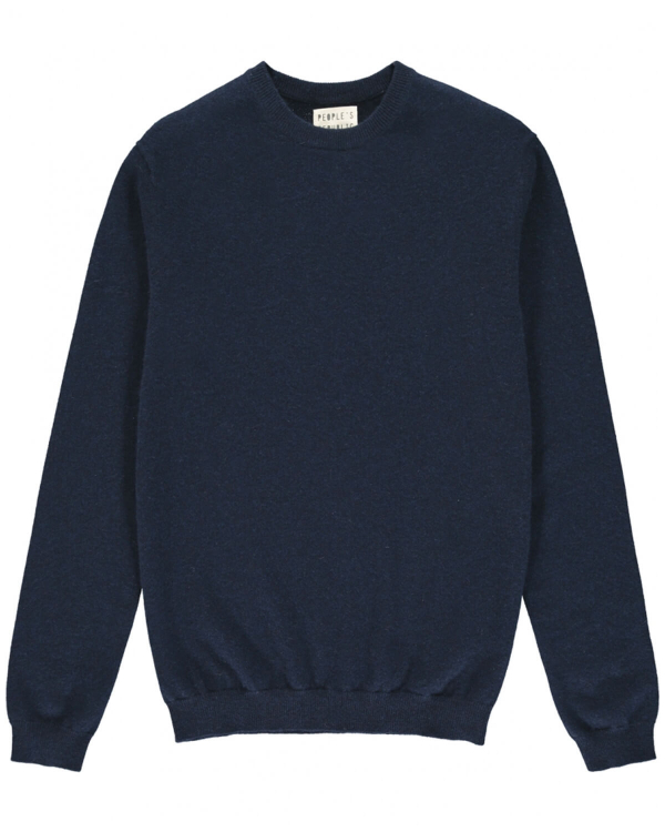 PEOPLE'S REPUBLIC OF CASHMERE ORIGINAL ROUNDNECK NAVY