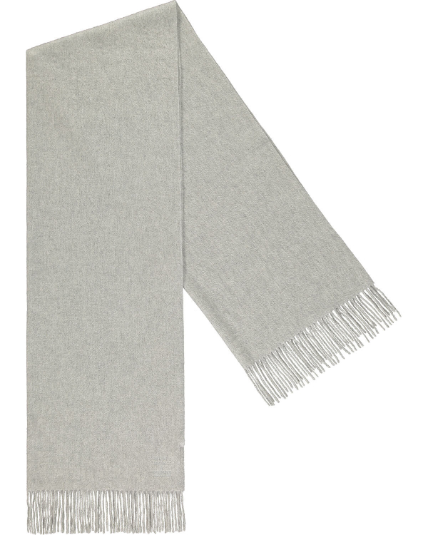 PEOPLE'S REPUBLIC OF CASHMERE ORIGINAL WOVEN SCARF GREY