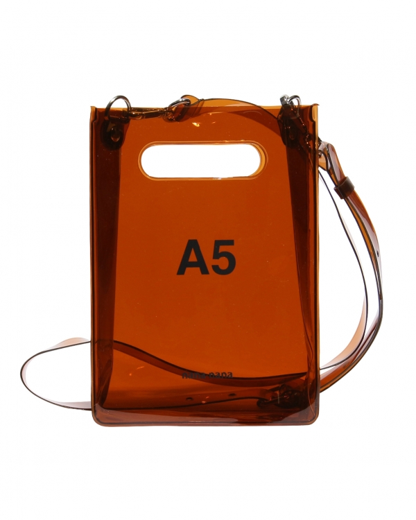 A5 PVC Bag Brown