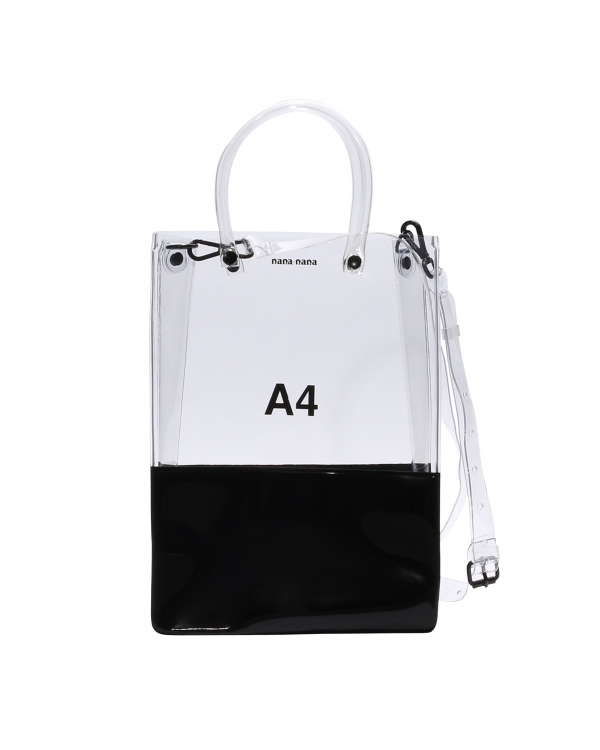 A4 Clear-Black PVC Opaque-Bag
