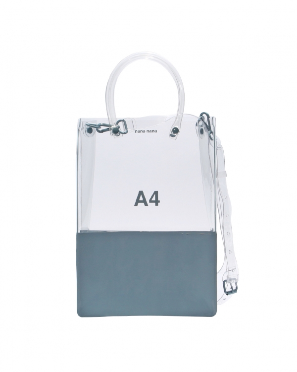A4 Clear-Blue PVC Opaque-Bag