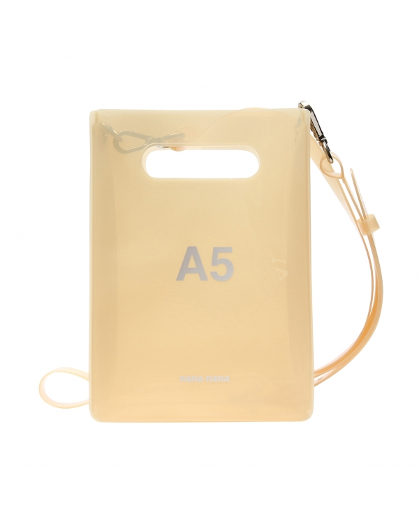 A5 PVC Bag Cream-Beige