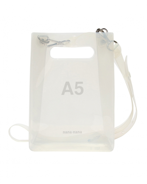 A5 PVC Bag Milky-White