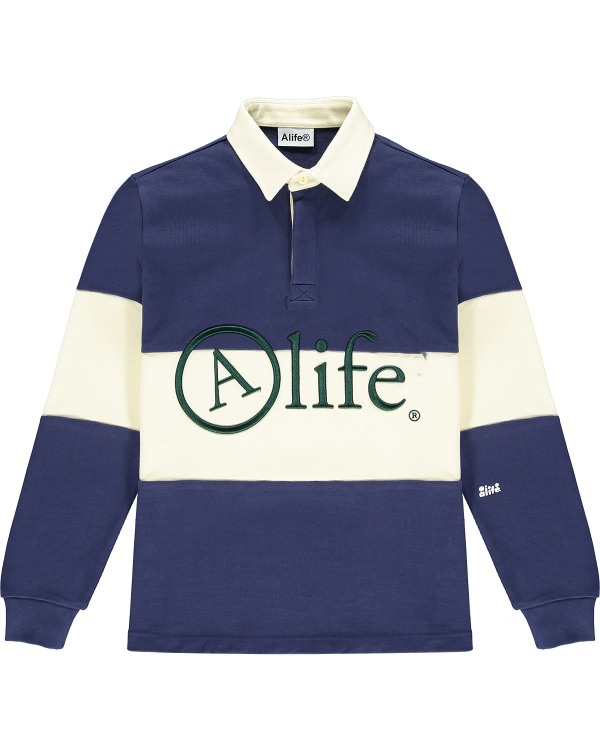 ALIFE RUGBY SHIRT NAVY