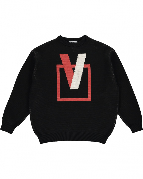 APRVD CREWNECK SWEATER BLACK