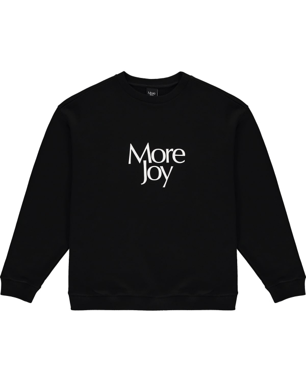 MORE JOY SWEATSHIRT BLACK