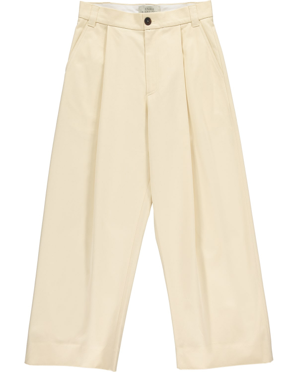 Studio Nicholson Cotton Twill Cream