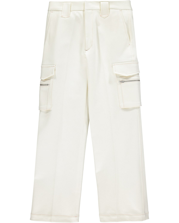 Martin Asbjorn Jackson Trousers Off-White