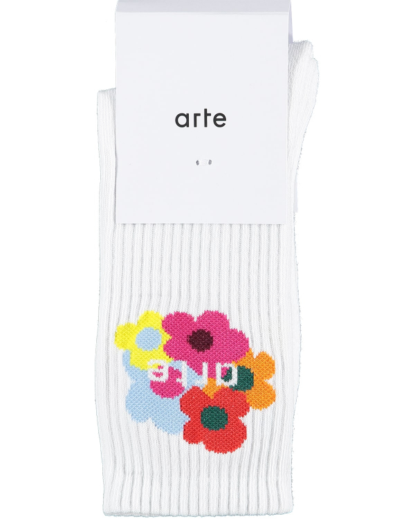 Arte Multi Flower Sock